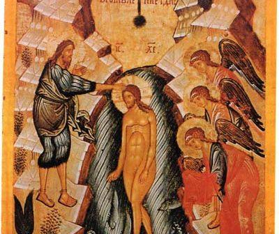 Il simbolismo del Battesimo di Gesù e il principio della Nuova Creazione
